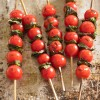 Toothsome Images / Recipe: Cherry Tomato Skewers with Fresh Basil