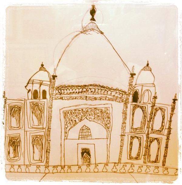 Stanwood Fair Taj Mahal Drawing