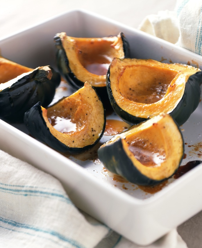 Maple Roast Acorn Squash