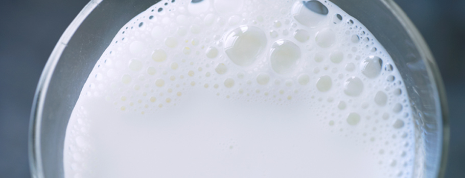 milk bubbles