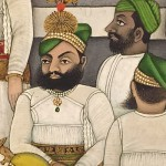Indian-Wall-Art_men-in-green-hats